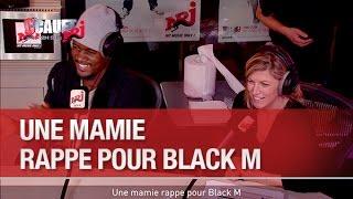 Une mamie rappe pour Black M - C'Cauet sur NRJ