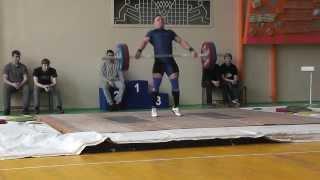 Клещев Дмитрий  в/к 85 кг