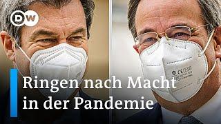K-Frage: Laschet und Söder stellen sich der Unionsfraktion   DW Nachrichten