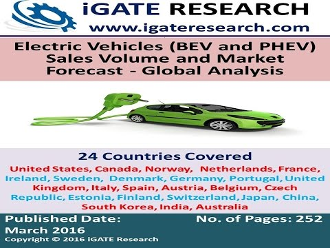 Electric Vehicles (BEV and PHEV) Sales Volume and Market Forecast - Global Analysis