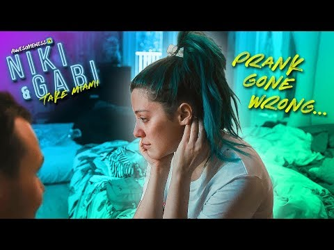 prank gone too far  Niki and Gabi take Miami EP 7