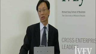 Q&A: Yuen Pau Woo discusses Canada's barriers, Triggs Lecture '09