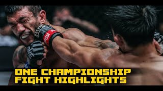 ONE Fire & Fury fight highlights: Joshua Pacio continues Championship Reign