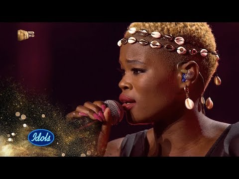 Top 17 Group A: Virginia – 'Themba' – Idols SA | S15| Live Shows | Mzansi Magic