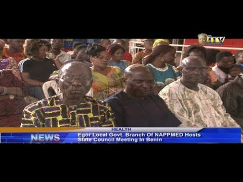 NAPPMED Hosts State Council Meeting In Benin