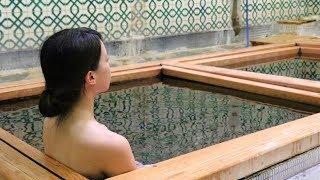 三朝温泉木屋旅館の温泉をザッと手っ取り早くご紹介!(ダイジェスト) thumbnail