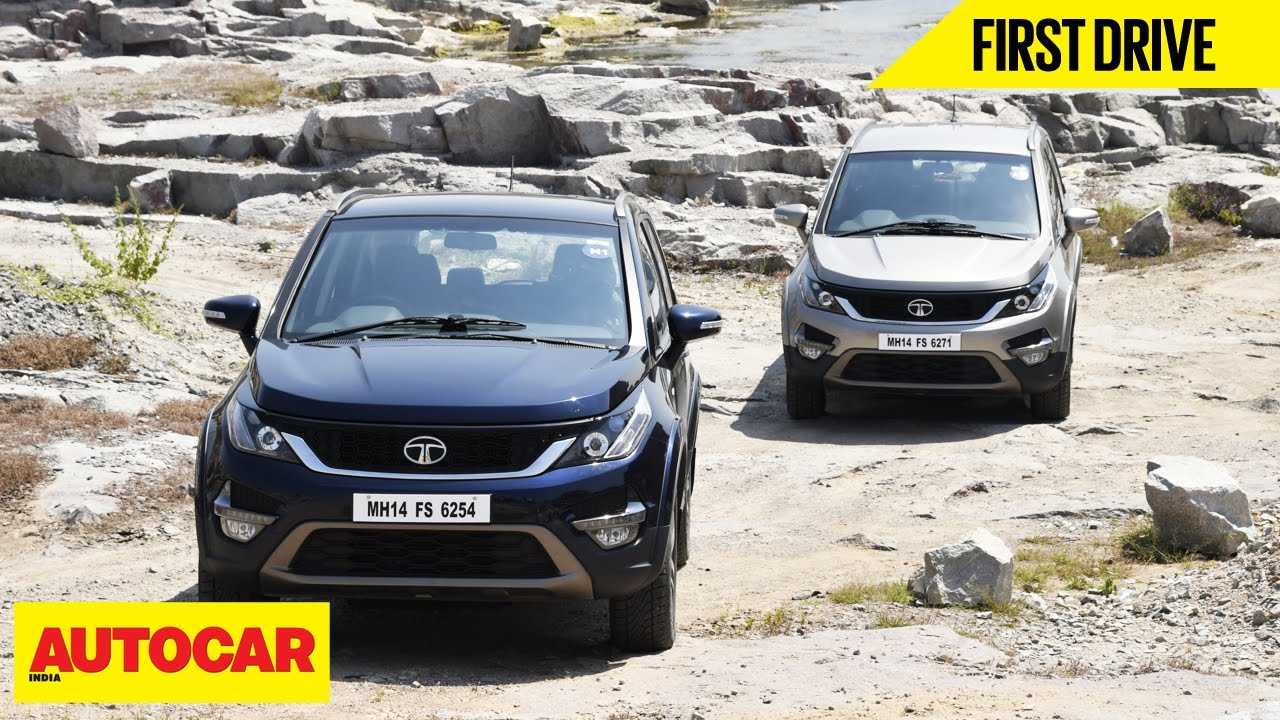 Tata Hexa First Drive Autocar India Youtube