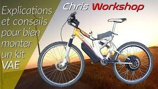 Comment faire un vélo électrique facilement grace à un kit VAE aliexpress