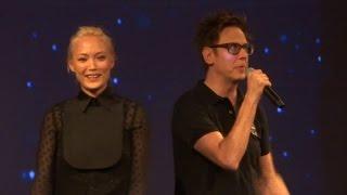 "James Gunn, Pom Klementieff (Mantis) Introduce ""Guardians Of The Galaxy Vol 2"" At El Capitan Theatre"