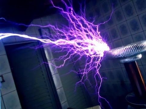 Mortal Kombat Theme on Musical Tesla Coil (Bobina de Tesla)