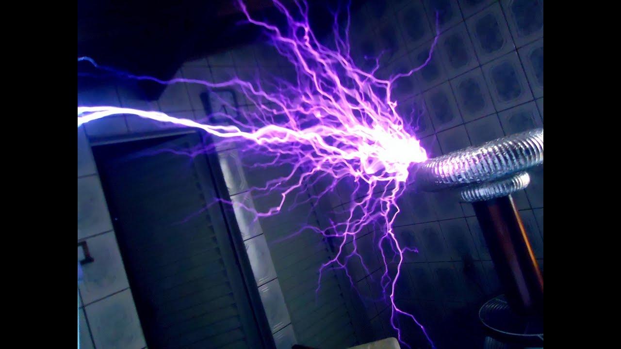 Mortal Kombat Theme On Musical Tesla Coil Bobina De Tesla