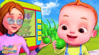 Healthy Snacks Song | Baby Ronnie Rhymes | Nursery Rhymes \u0026 Kids Songs | Good Habits Songs
