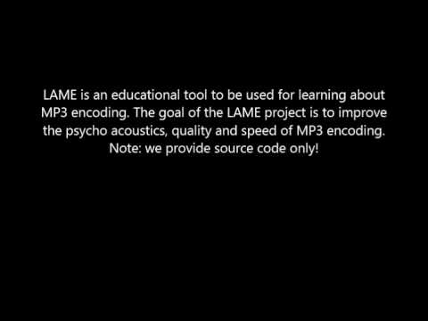 Download LAME Here! Learning About MP3 Encoding Software