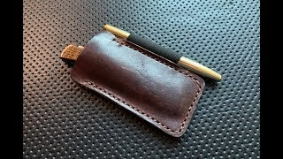 The Popov Leather Pocket Armor Knife and Pen Slip: A Quick Shabazz Review