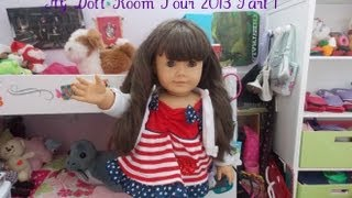 Updated AG Doll Room Tour 2013 (Part 2)