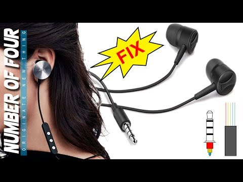 how-to-fix-earphone-working-on-one-side-|-how-to-wiring-5-wire-in-4-pole-earphone-jack