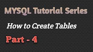 Mysql-Tutorial In Hindi |Wie Sie Tabellen Erstellen (P-4) |CSEtutorials
