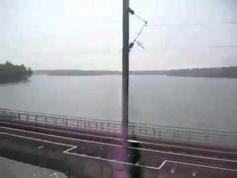 PERUMON RAILWAY ACCIDENT SPOT ASHTAMUDI LAKE , KERALA INDIA