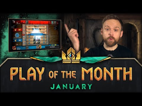 GWENT: THE WITCHER CARD GAME | Play of the Month (January 2018)