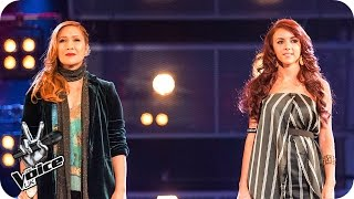 Irene Alano-Rhodes Vs Lydia Lucy: Battle Performance - The Voice UK 2016 - BBC One