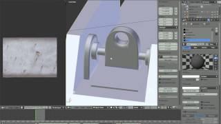 Blender урок по настройке материалов hi-tech вооружения Part I