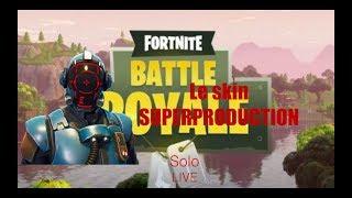 FORTNITE Royal Battle The SUPERPRODUCTION LIVE skin