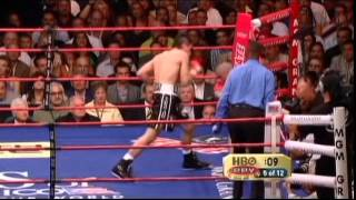 Miguel Cotto vs  Antonio Margarito I (Highlights)