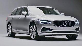2017 Volvo V90 - Interior and Exterior Design