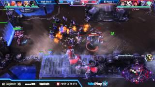 WePlay HOTS Invitational WELL MET vs El Nexo