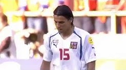 Czech Republic Vs Netherlands مباراة هولندا و التشيك يورو 2004 من اجمل المباريات في تاريخ كرة القدم
