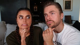 Asking my boyfriend *JUICY* questions! - Dayley Life with Derek Hough and Hayley Erbert