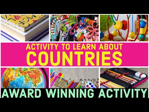 Activity To Learn About The  Countries of The World   #countries #kidseducationalvideos