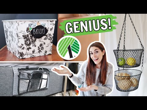 Clever Dollar Tree Storage Hacks You Have to Try!
