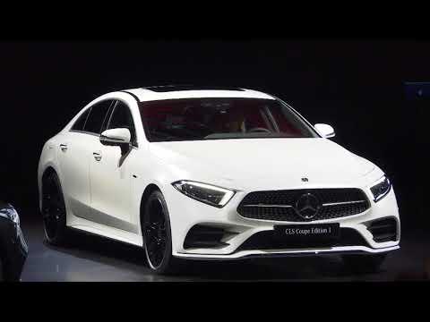Mercedes-Benz CLS 2018: Presented by chief designer Gorden Wagener