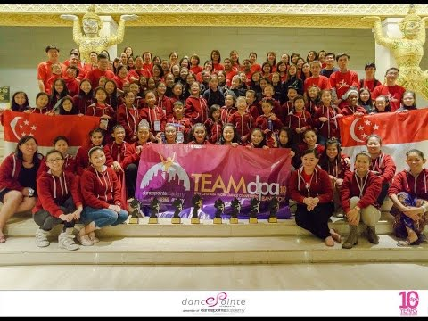 17th CSTD Asia Pacific Dance Competition 2015 - Bangkok
