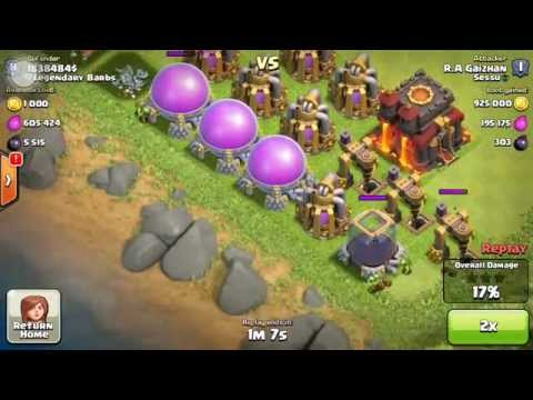 Clash of Clans - (FREE) 1.8 Million Loot Giveaway On Max Th10 Buildings w/ 6,000 Dark Elixir
