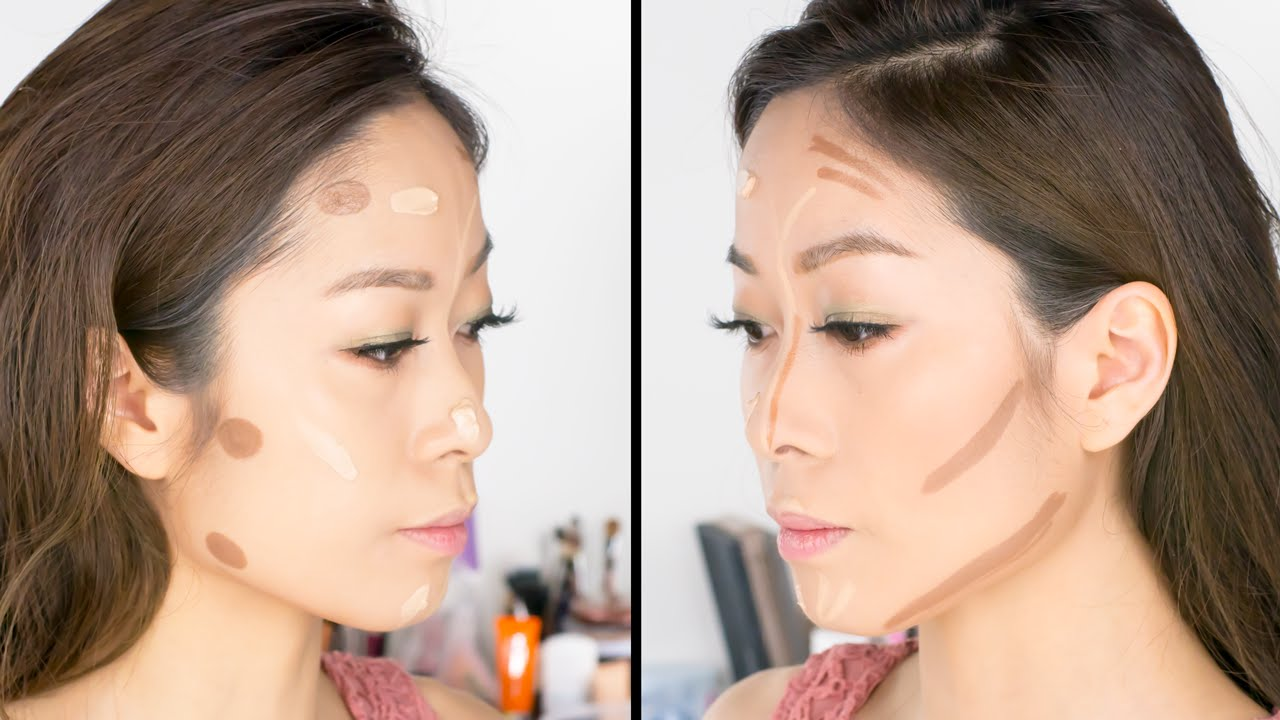Korean Vs Western Contouring And Base Makeup Techniques  Viestelook   Youtube