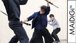 川栄李奈、汗だくで激しい斬り合い 舞台「あずみ」殺陣シーンを公開 有森也実 検索動画 25