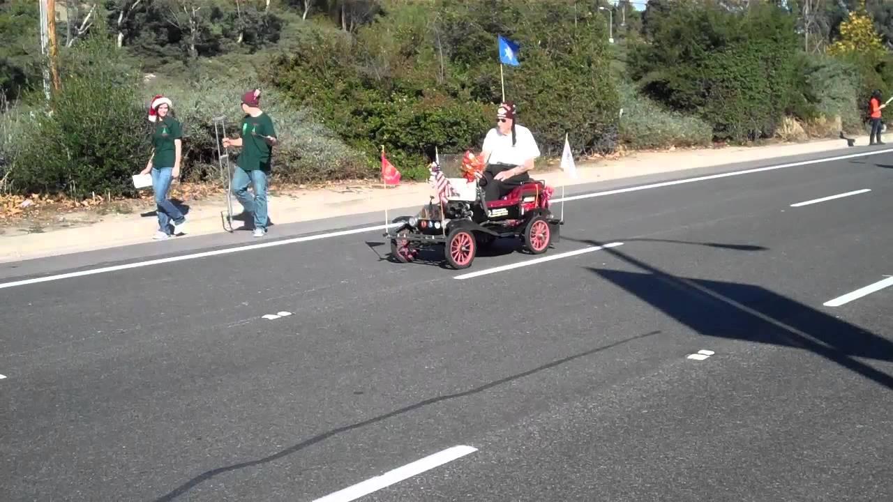 El bekal shriners drive tin lizzies in 2011 laguna niguel holiday parade