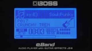 Boss JS-8 eBand Guitar Trainer Demo Video | UniqueSquared.com