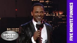 Mike Epps⎢' Wherever there's a van there's an Old Man!'⎢Shaq's Five Minute Funnies⎢Comedy Shaq