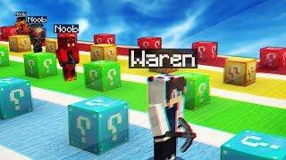 QUI ARRIVERA LE PREMIER ?! | Minecraft Lucky Block Race !