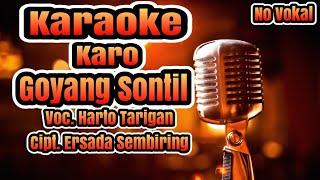 Karaoke No Vokal Goyang sontil Versi Gendang Salih