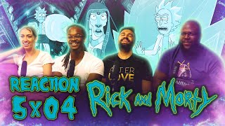 Rick and Morty - 5x4 Rickdependence Spray - Group Reaction