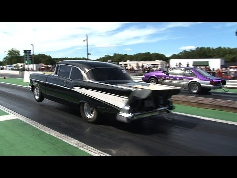 Small Tire Drag Racing - ORP Street Machine Shootout