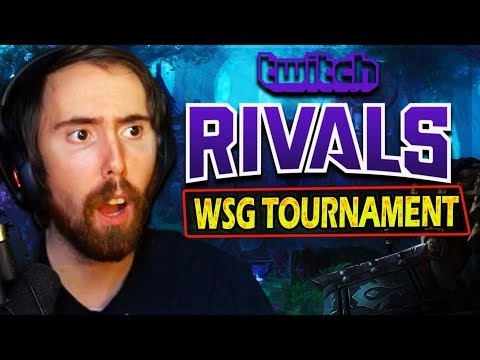 Asmongold DOMINATES & Gets TROLLED In His First TWITCH RIVALS WSG Tournament In Classic WoW