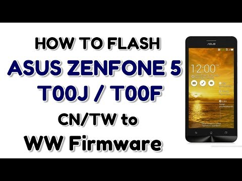 Full Download] Asus Zenfone 5 Dead Flashing Solution How To Flash