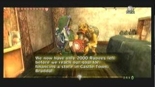 "Legend of Zelda Twilight Princess Walkthrough 12 (1/5) ""Gerudo Desert: Bridge & Malo Mart"""