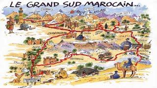 Maroc - Morocco - circuit Grand Sud
