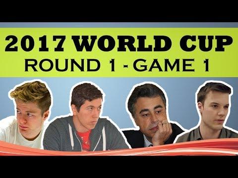 2017 WORLD CUP: YASSER SEIRAWAN & van Kampen ROUND 1 GAME 1